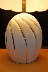 Italian Ceramic Table Lamp, 1980s for sale at Pamono