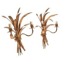 Vintage Italian Sconces, Set of 2 for sale at Pamono
