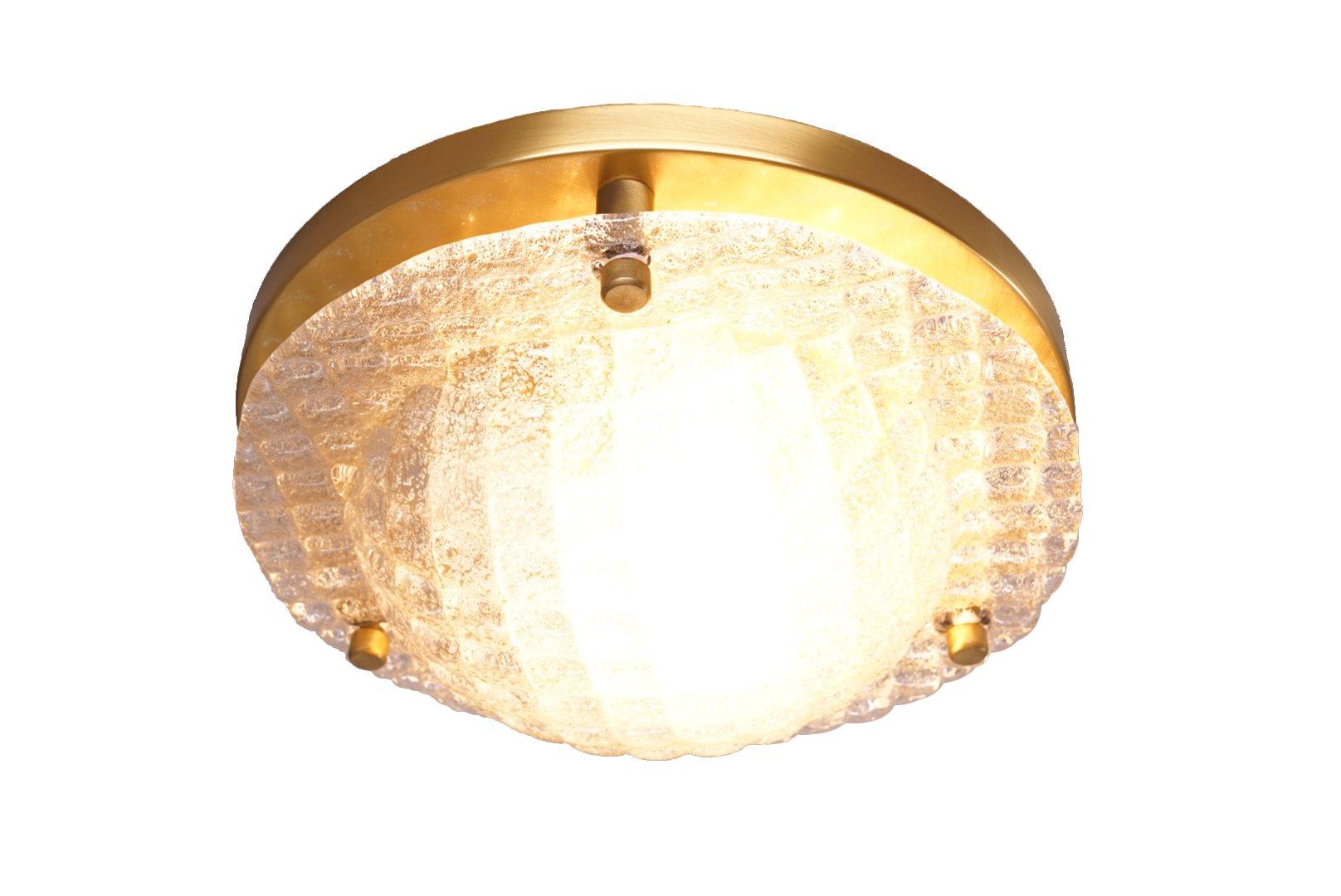 Deckenlampe Glas Aus Glas Deckenlampe Cross Led 35 Cm