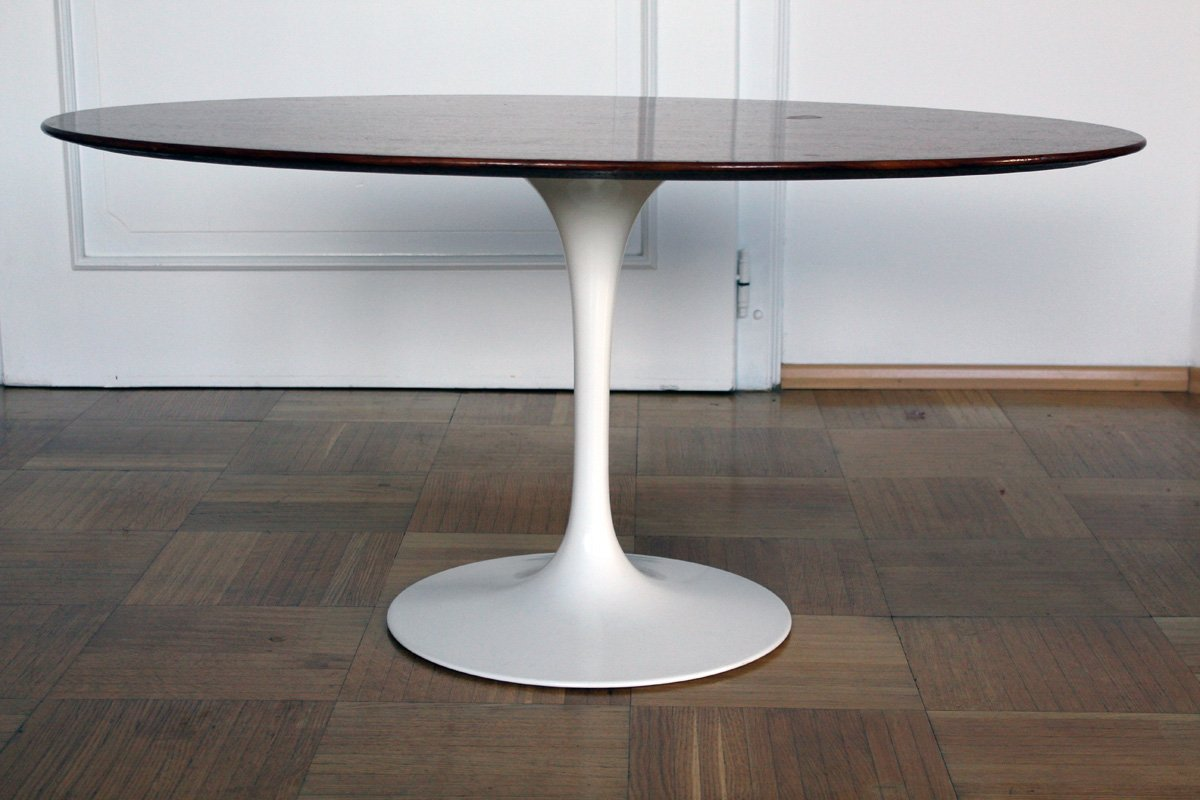 Table Knoll Tulipe Tulip Coffee Table By Eero Saarinen For Knoll 1957