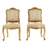 Antique Louis XV Style Chairs, Set of 2 for sale at Pamono