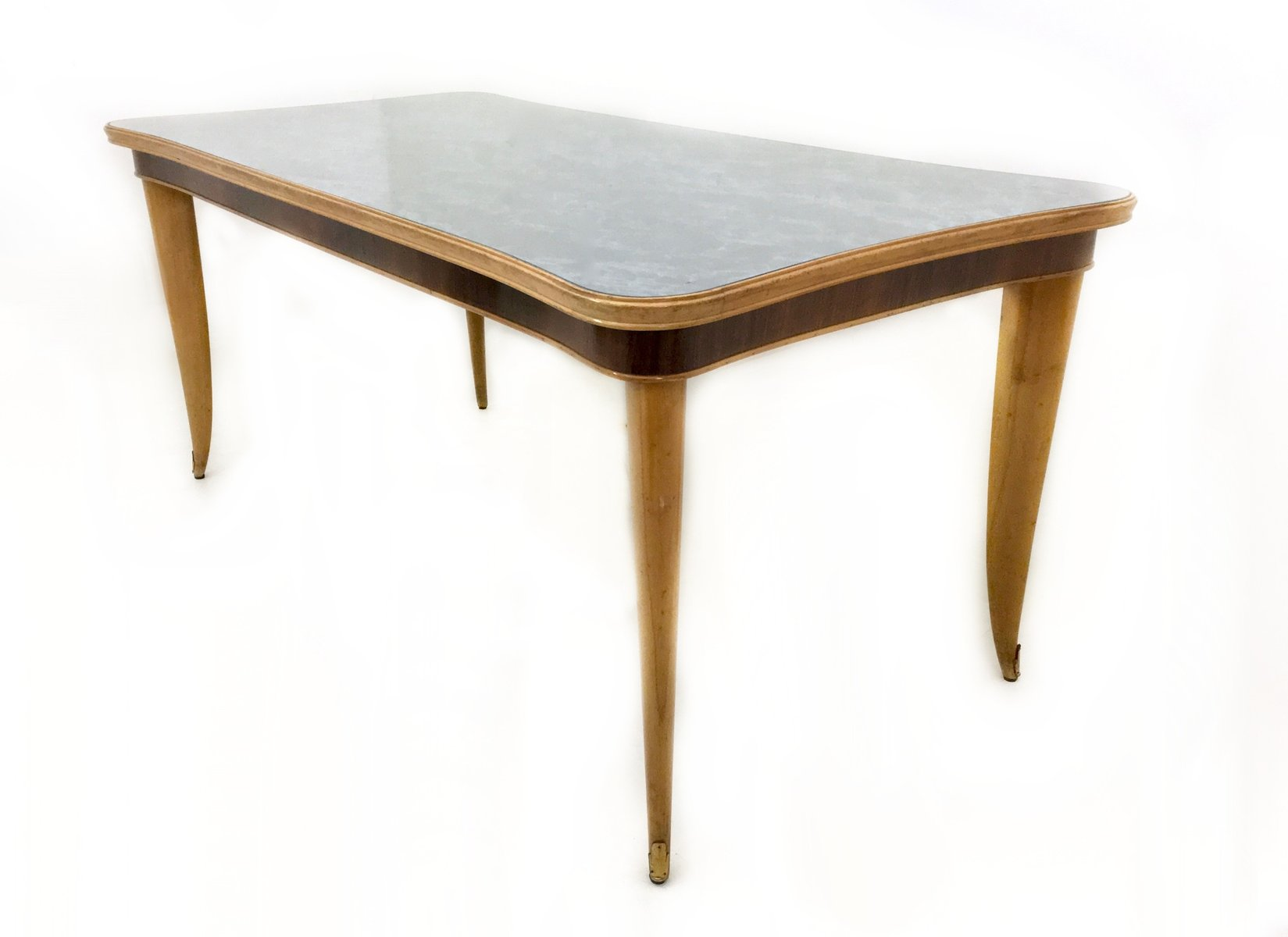 Japanese Dining Table For Sale Italian Beech And Maple Dining Table 1950s For Sale At Pamono
