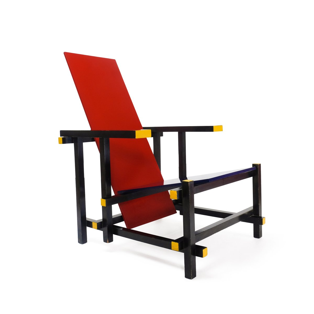 Stuhl Rot Stuhl In Rot And Blau Von Gerrit Thomas Rietveld Für Cassina
