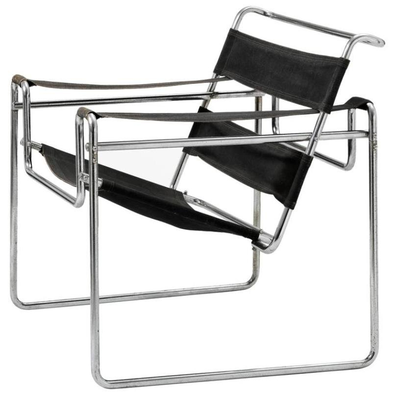 Wassily Sessel Vintage Model B3 Wassily Chair By Marcel Breuer For Thonet