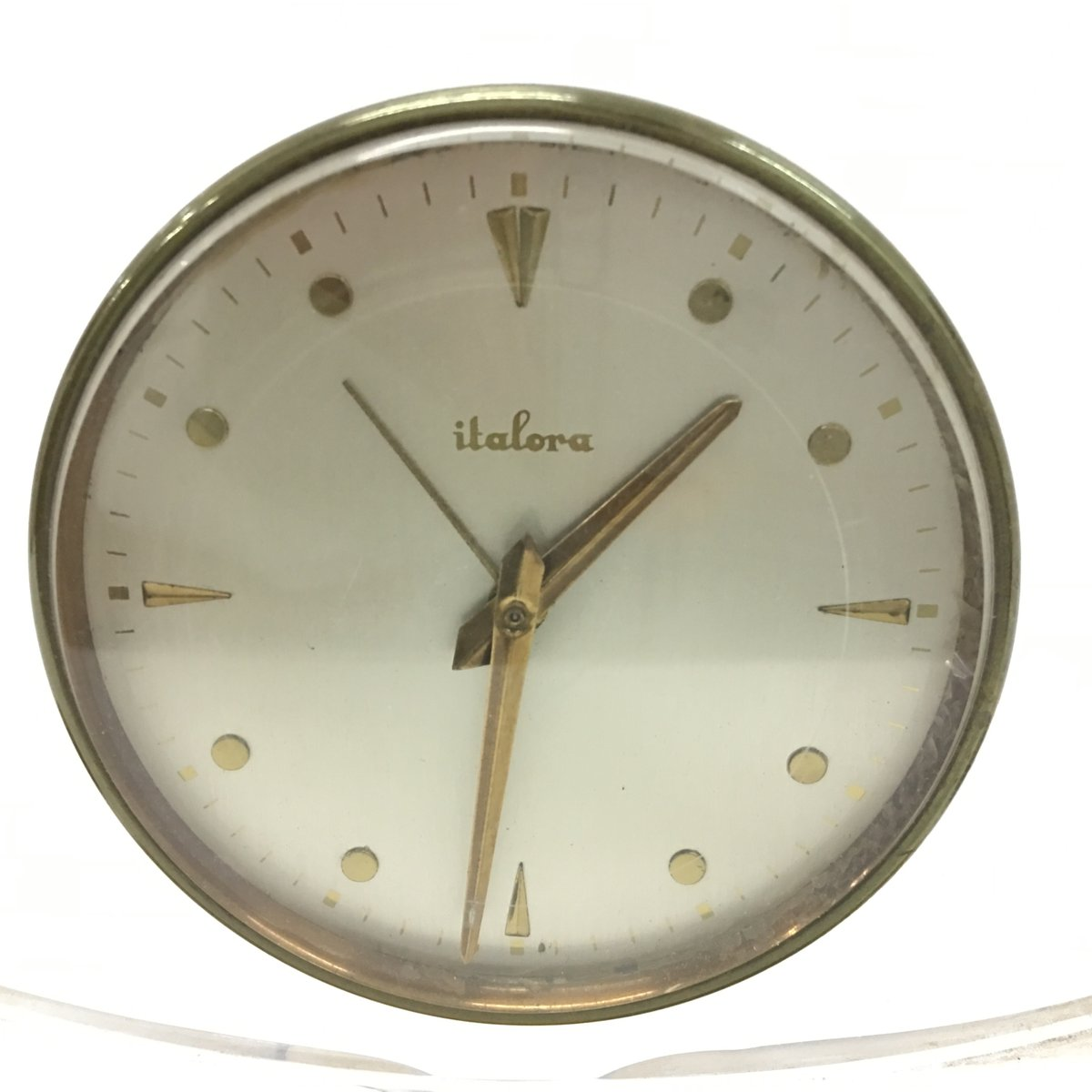 Table Clock Modern Mid Century Modern Plexiglass Table Clock From Italora For