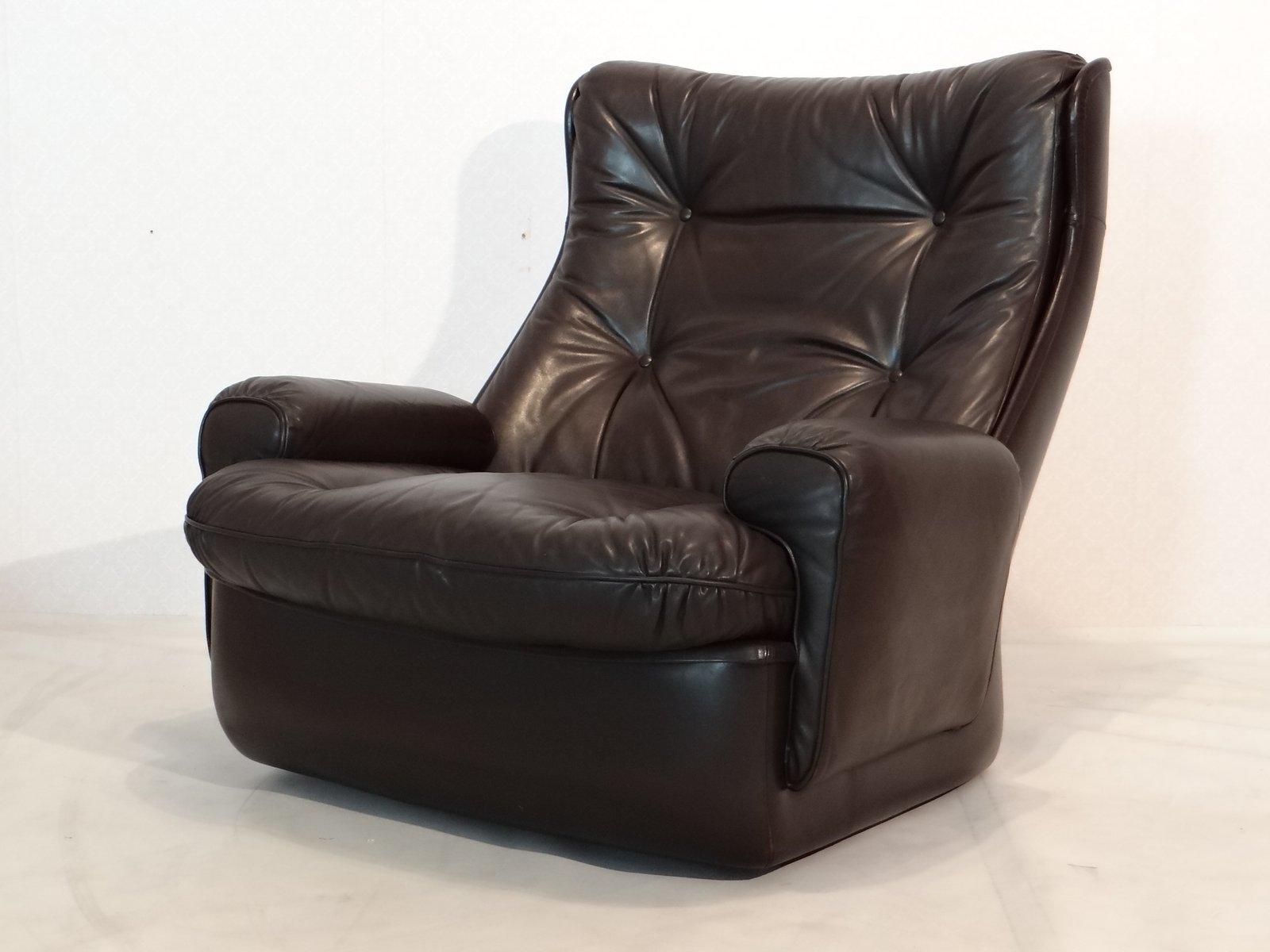 Vintage Ledersessel Braune Couch Schön Sessel Braun Vintage