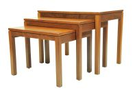 Mid-Century Teak Nesting Tables, 1960s for sale at Pamono