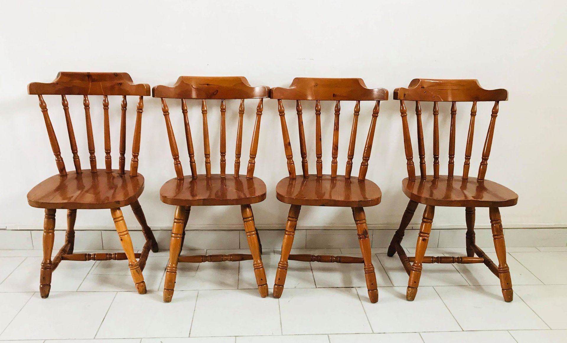 Rustic Stools Kitchens Rustic Kitchen Chairs 1930s Set Of 4 For Sale At Pamono