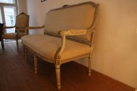 Antique Living Room Set for sale at Pamono