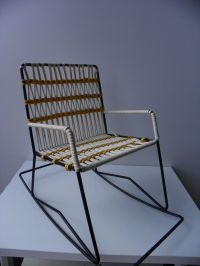 Vintage Children's Rocking Chair, 1970s for sale at Pamono