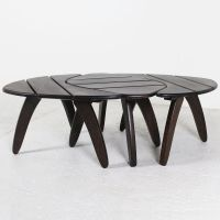 Coffee Tables from Triconfort, 1960s, Set of 3 for sale at ...