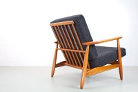 Mid-Century Danish Elm Lounge Chair, 1960s for sale at Pamono