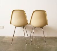 Vintage Brown Chairs by Charles & Ray Eames for Herman ...