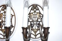 Antique Austrian Wall Sconce, Set of 2 for sale at Pamono