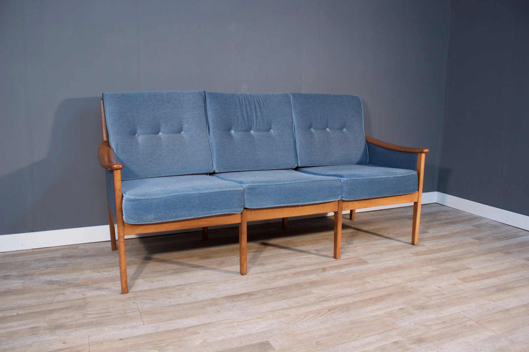 Walter Knoll Sofa Vintage Three Seater Sofa By Walter Knoll