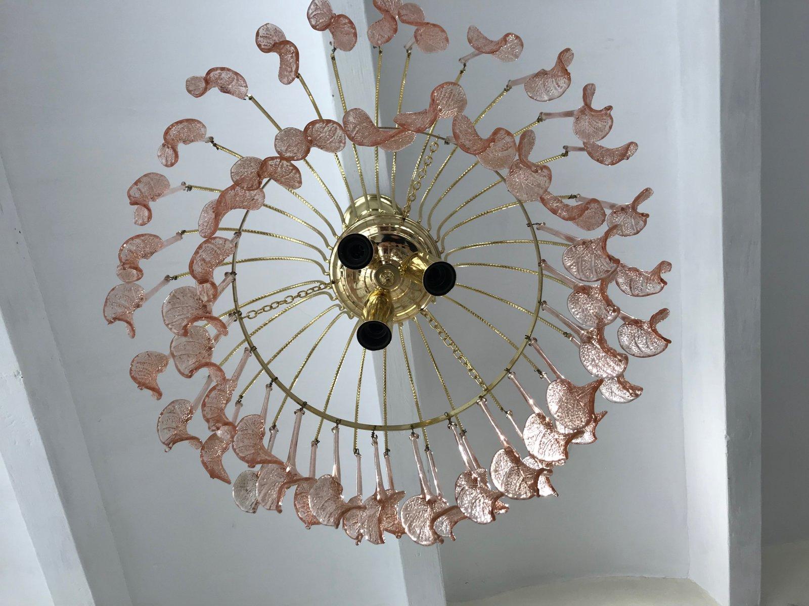 Lampadario di murano lusso lampadario applique in vetro di murano