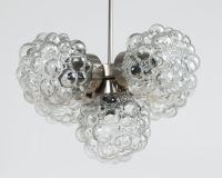 Bubble Glass Chandelier, 1970s for sale at Pamono