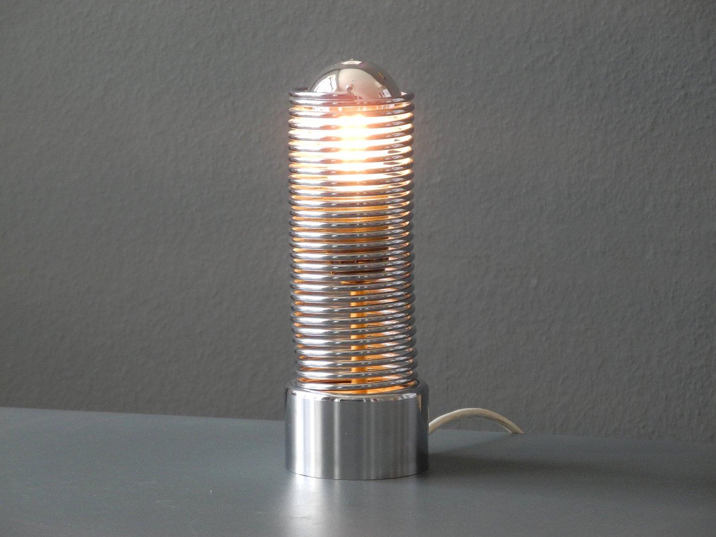 Model Jo Jo Metal Chrome Table Lamp By Heinz Brenker For
