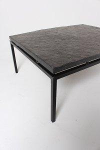 Mid-Century German Slate Top Coffee Table, 1960s for sale ...