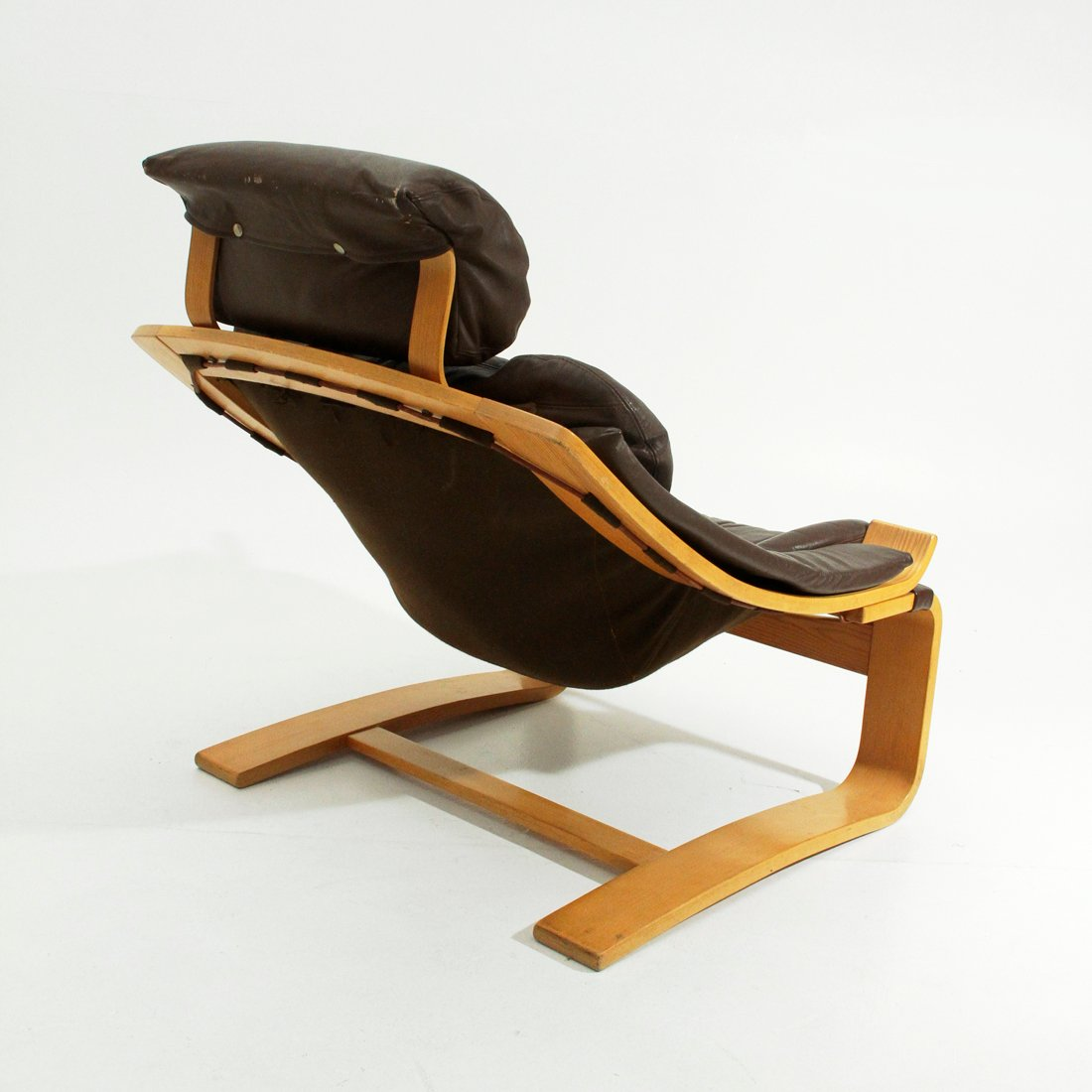 Leather Armchair Canada Kroken Leather Armchair By Ake Fribyter For Nelo 1970s