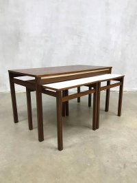 Mid-Century Nesting Tables, 1960s for sale at Pamono