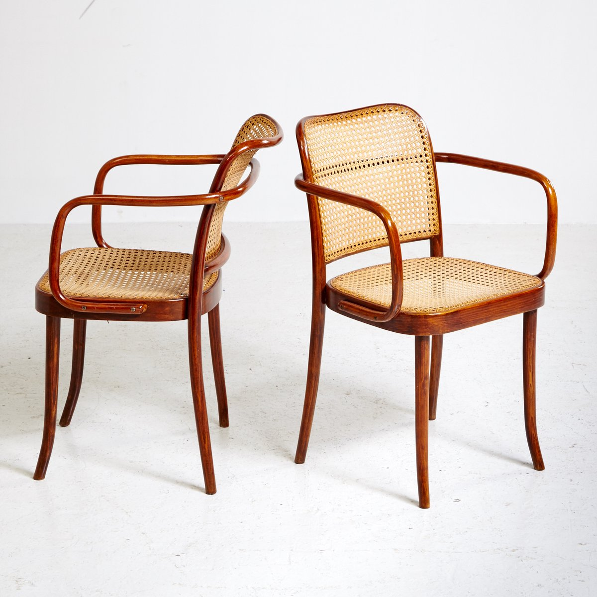 Thonet Jobs Model A811 Armchair By Josef Frank And Josef Hoffmann For Thonet 1920s