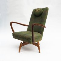 Mid-Century Danish Swivel Chair, 1950s for sale at Pamono