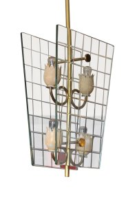Lantern Pendant Lamp from Fontana Arte, 1940s for sale at ...