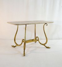 Mid-Century Italian Cocktail Table with Swan Legs for sale ...