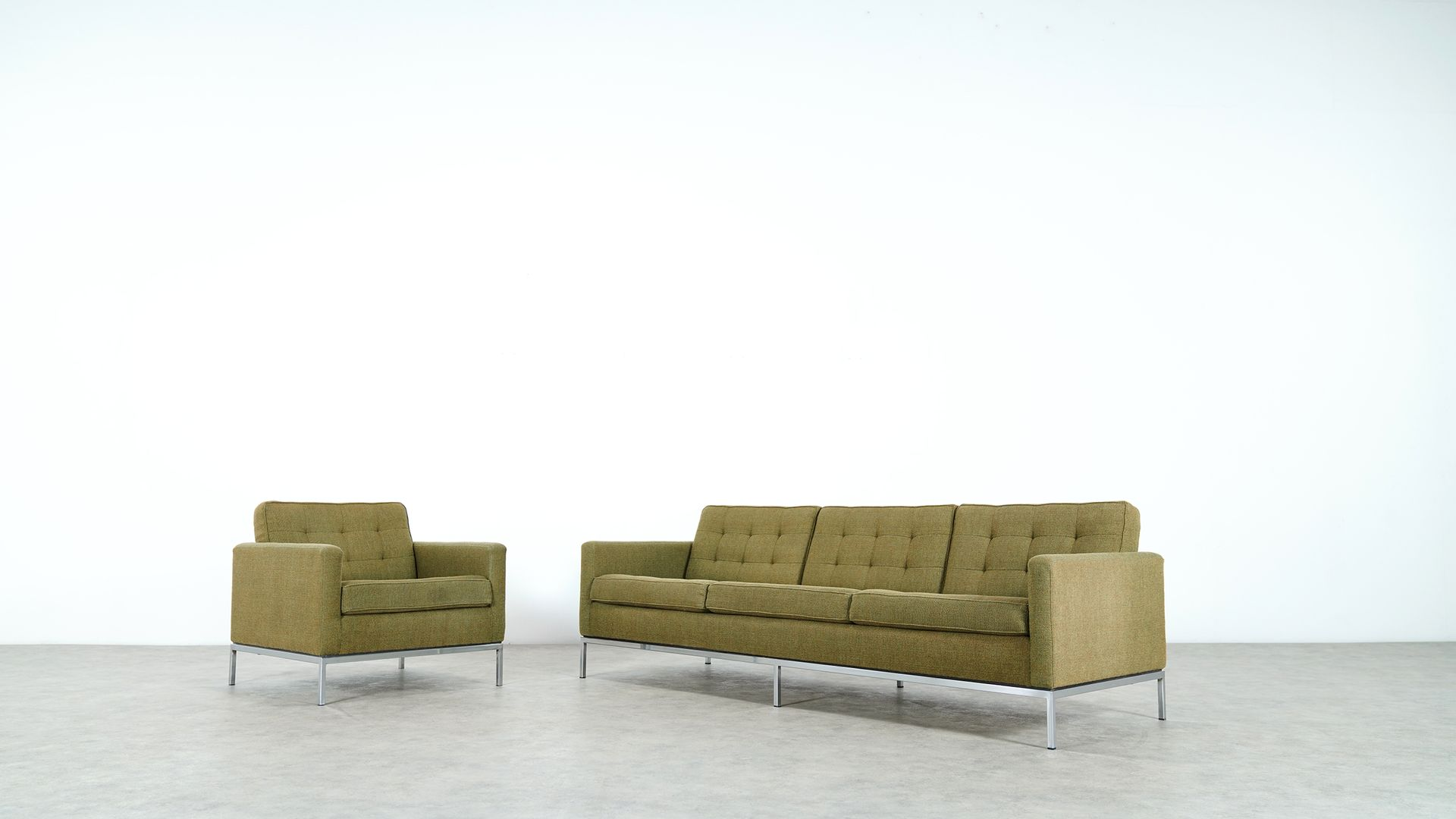 Knoll International Diamond Großer Sessel Sofa Und Sessel Von Knoll International 1950er Bei Pamono