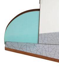 Mid-Century Mirror for sale at Pamono