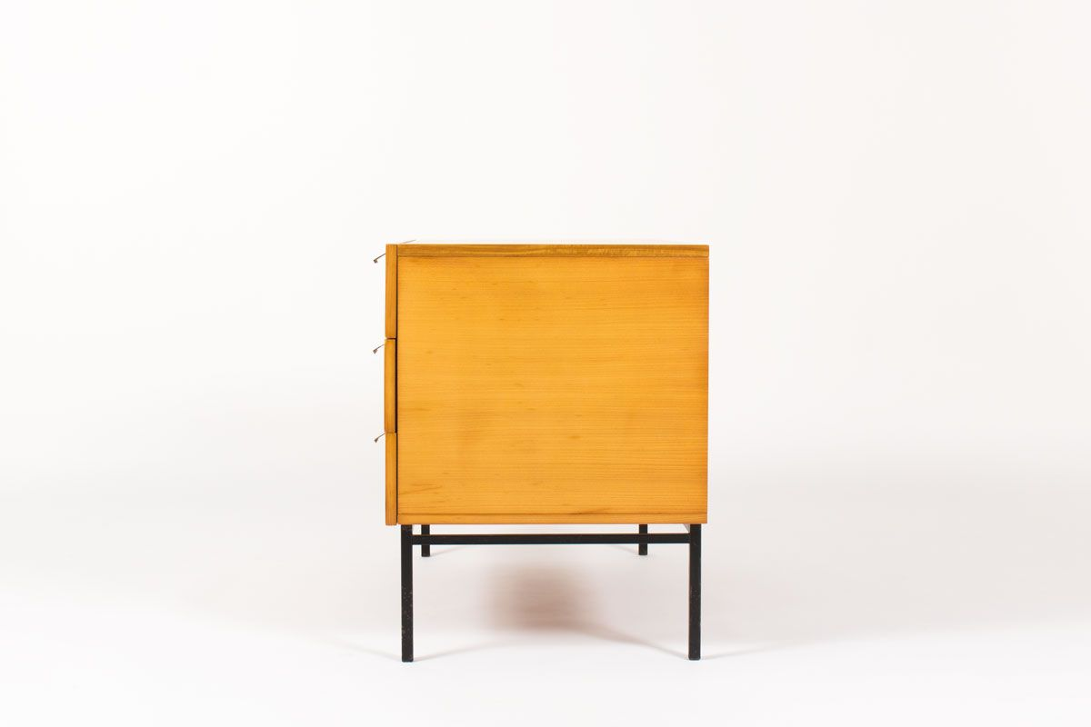 Meuble Tv Vintage Design French Model 812 Chest Of Drawers By Andre Monpoix For Meubles Tv 1960s