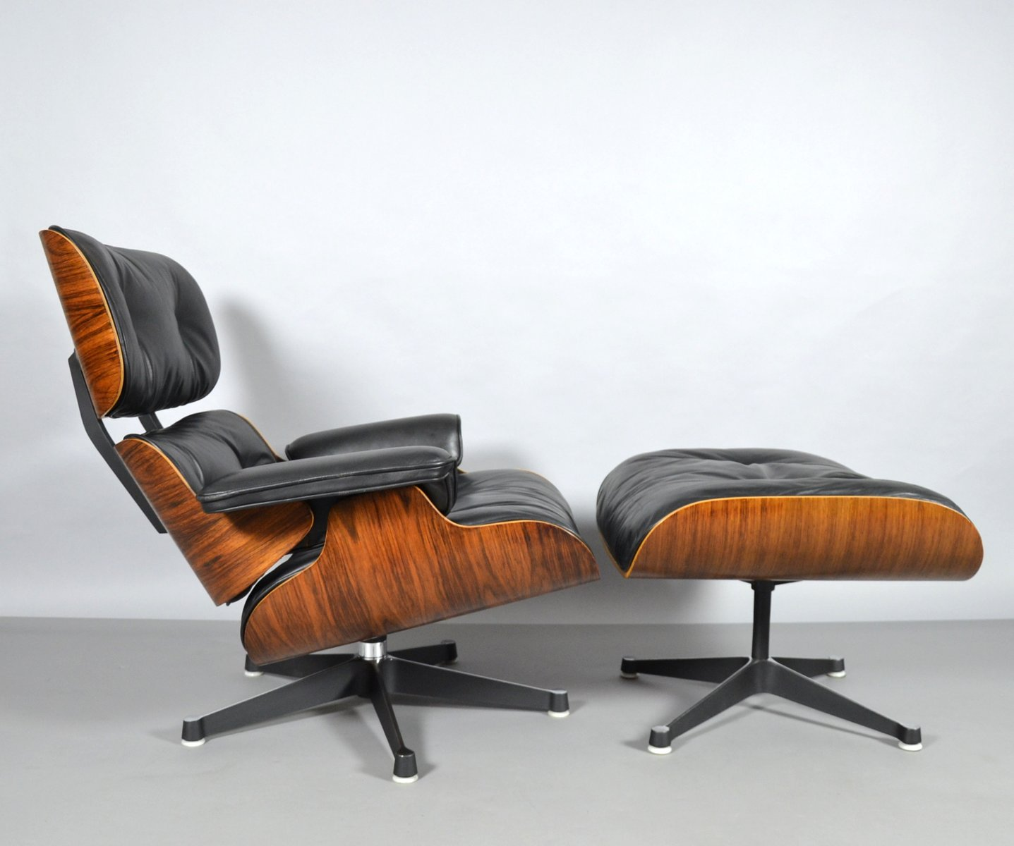 Eames Sessel Vitra Lounge Chair Ottoman By Charles Ray Eames For Vitra 1960s