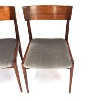 Mid-Century Brazilian Rosewood Dining Chairs, Set of 4 for ...