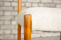 Minimalist Mid-Century Chair in Cherrywood & Wool for sale ...