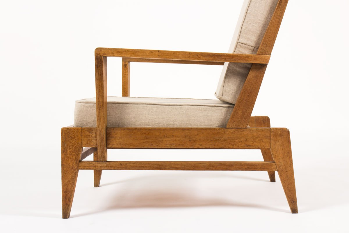 Fauteuils René Gabriel Armchair By Rene Gabriel For Lieuvin 1946