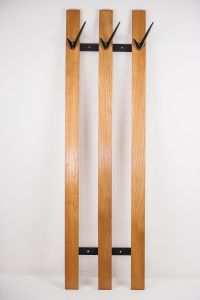 Cherry Coat Rack with Hooks by Walter Bosse for Hertha ...