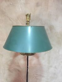 Antique French Empire Style Bronze & Metal Floor Lamp for ...