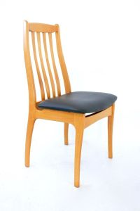 Danish Elm Dining Chairs, 1970s, Set of 6 for sale at Pamono