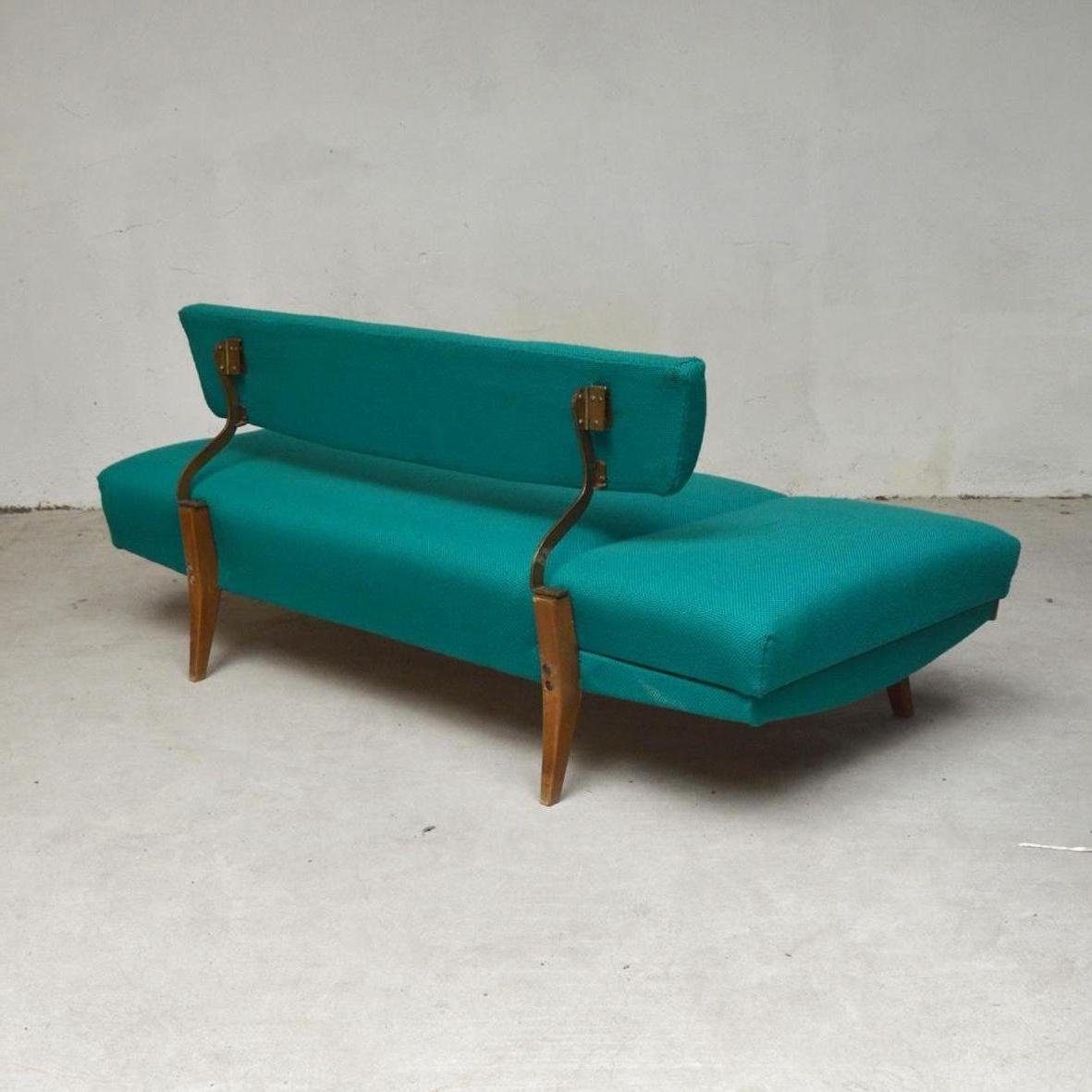 Canapé Turquoise Turquoise Canape Daybed Or Sofa 1960s For Sale At Pamono