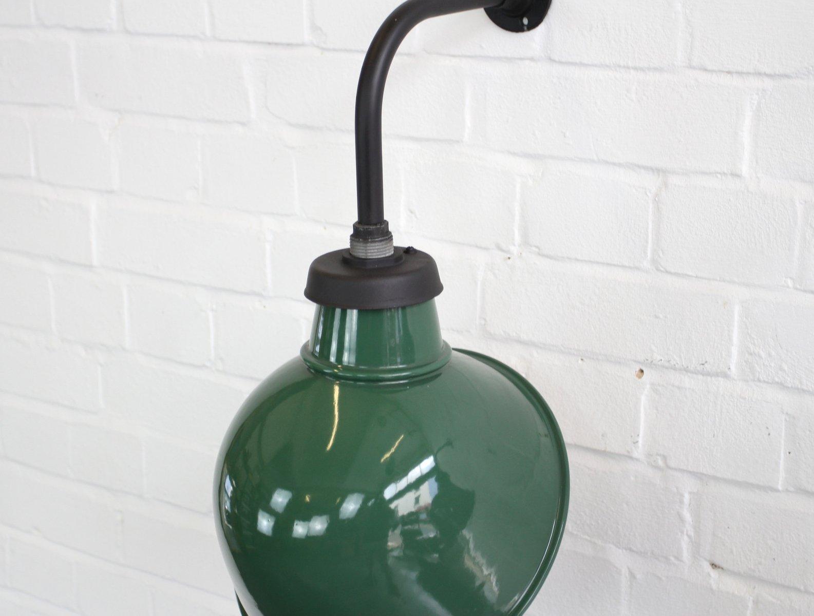 Ancienne lampe applique industrielle waldmann old german lamp