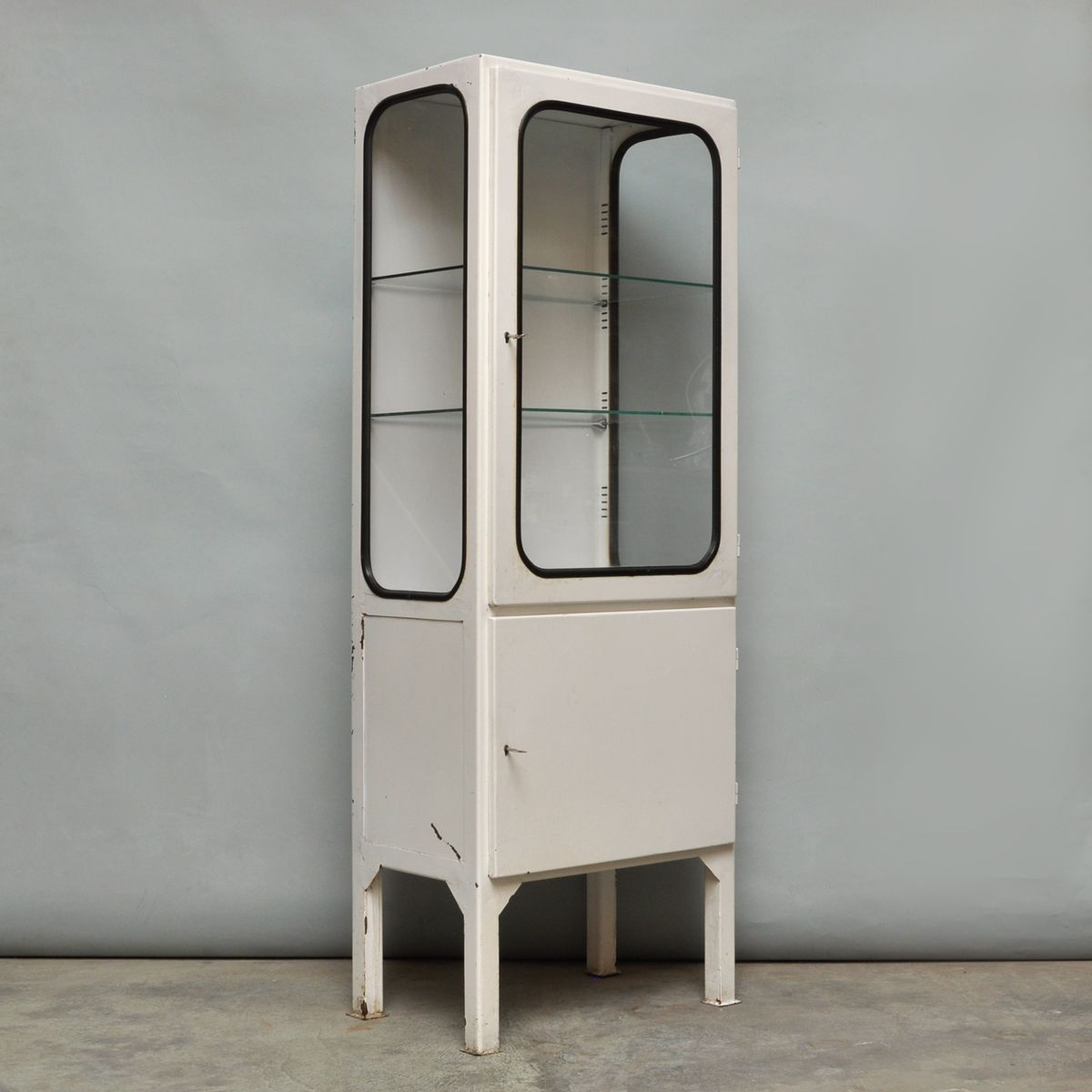 Steel Cabinet For Sale Vintage Steel And Glass Medical Cabinet 1970s For Sale At