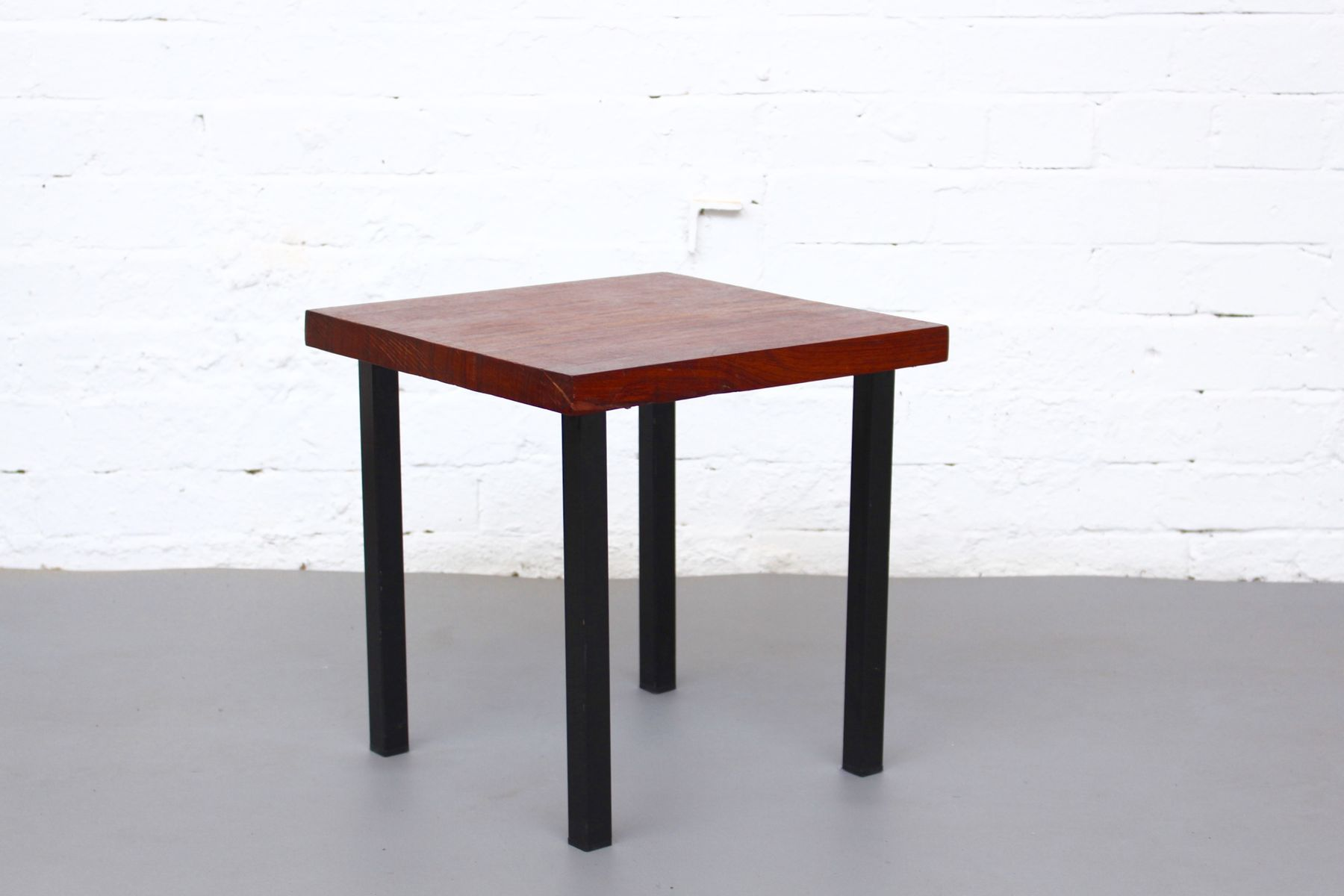 Petite Table Appoint Petite Table D 39appoint Mid Century En Teck Massif 1960s