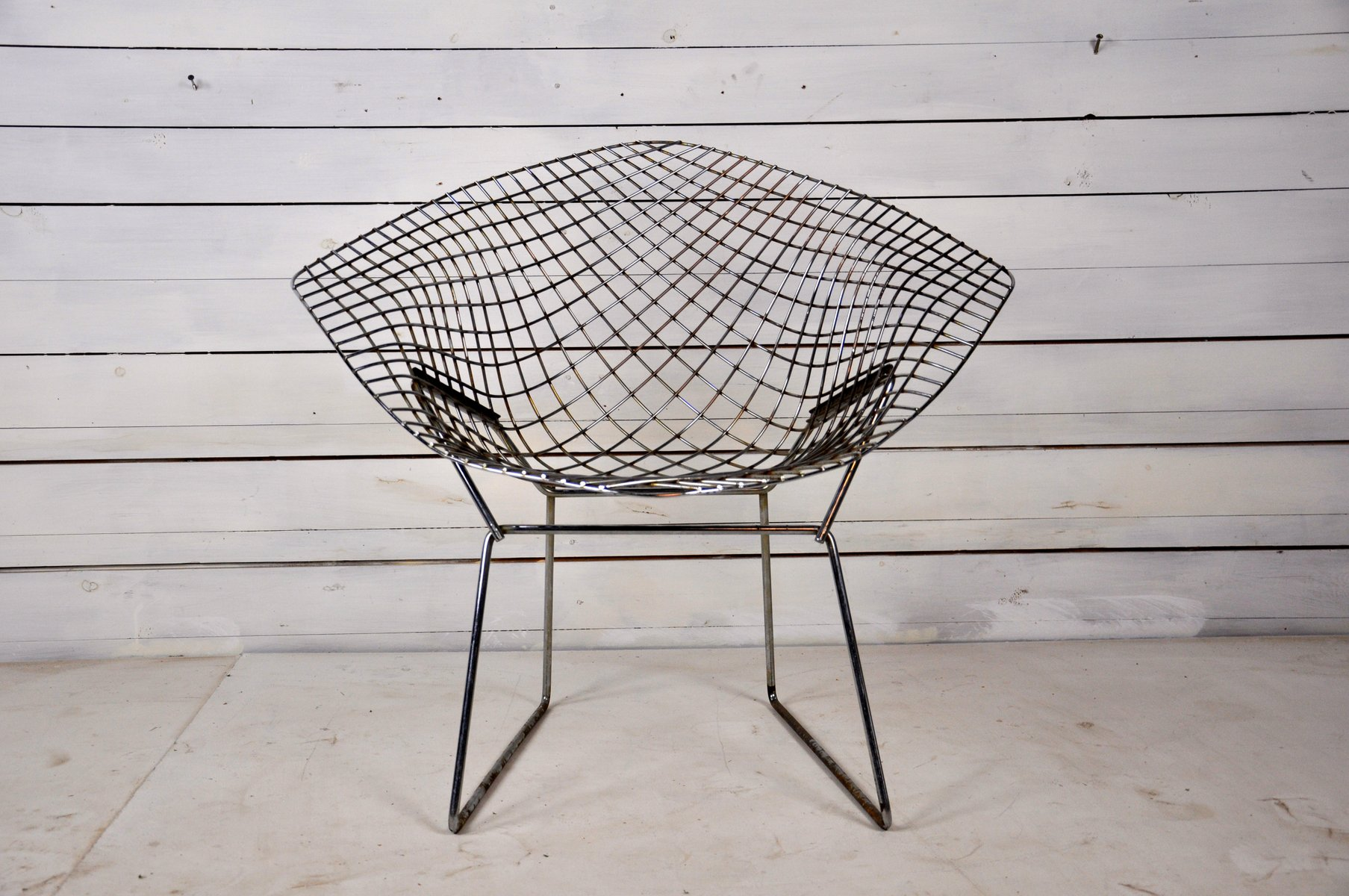 Diamond Sessel Mid Century Diamond Chair By Harry Bertoia For Knoll International