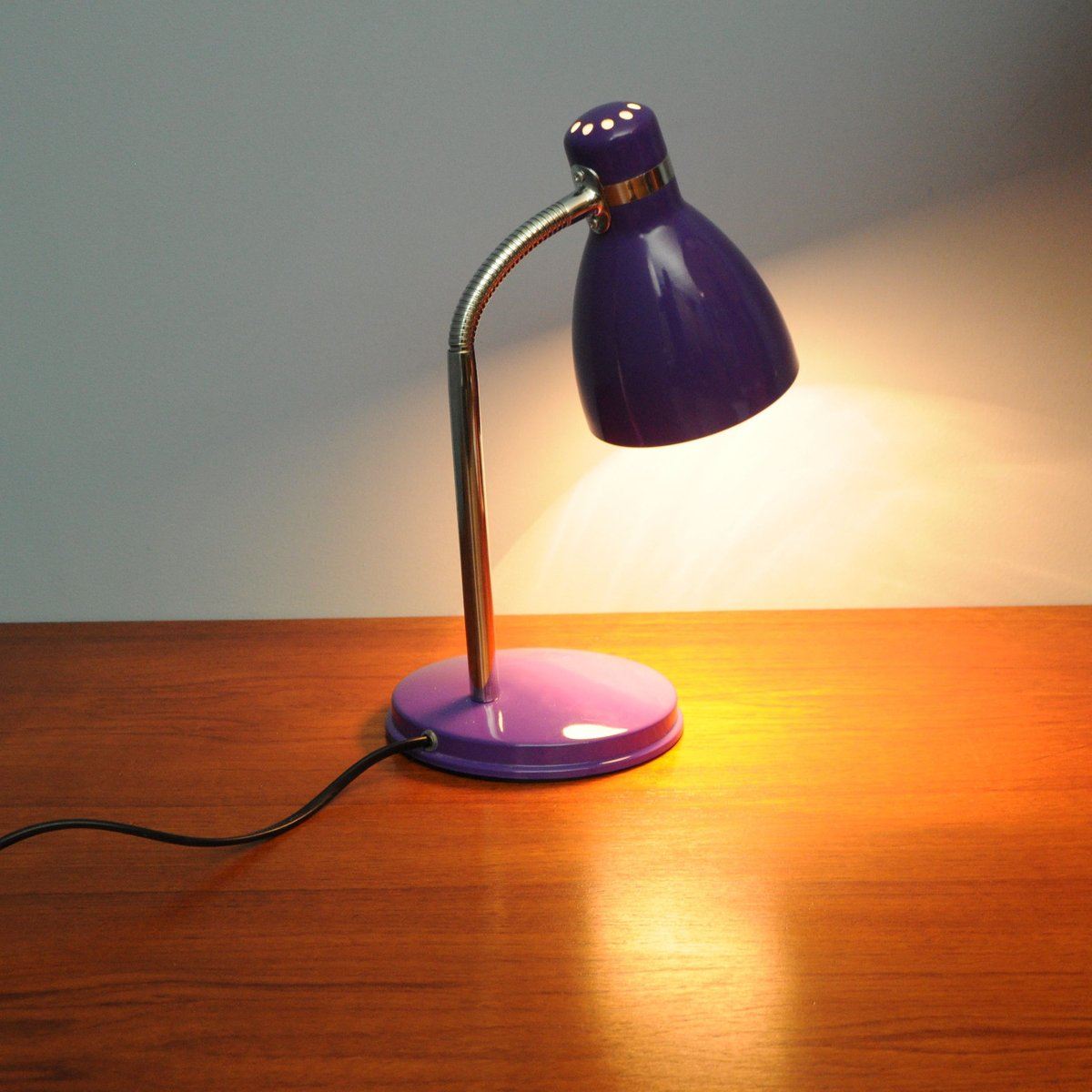 Vintage Purple Desk Lamp From Nordlux For Sale At Pamono