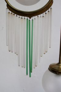 Antique 3-Light Ceiling Lamp for sale at Pamono