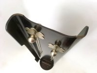 Revolving Rosewood Coat Rack with Floral Motifs, Italy ...