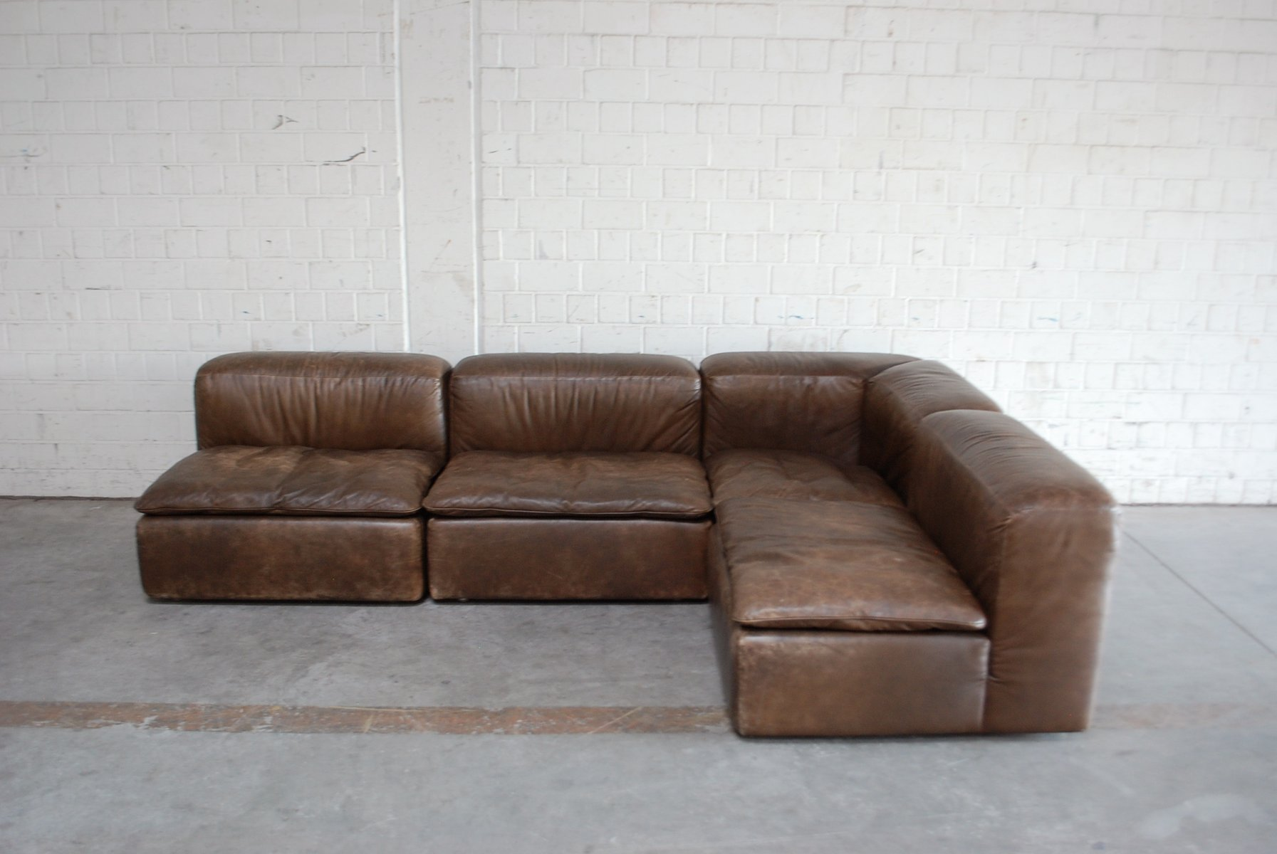 Vintage Möbel Oranienstraße Vintage Wk 550 Leather Sofa By Ernst Martin Dettinger For Wk Möbel