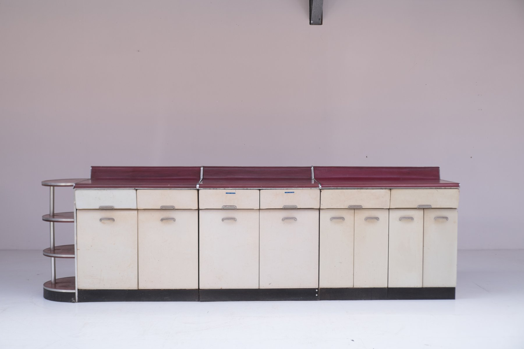 Kitchen Cabinets For Sale London Kitchen Cabinet Set By Raymond Loewy 1950s For Sale At Pamono