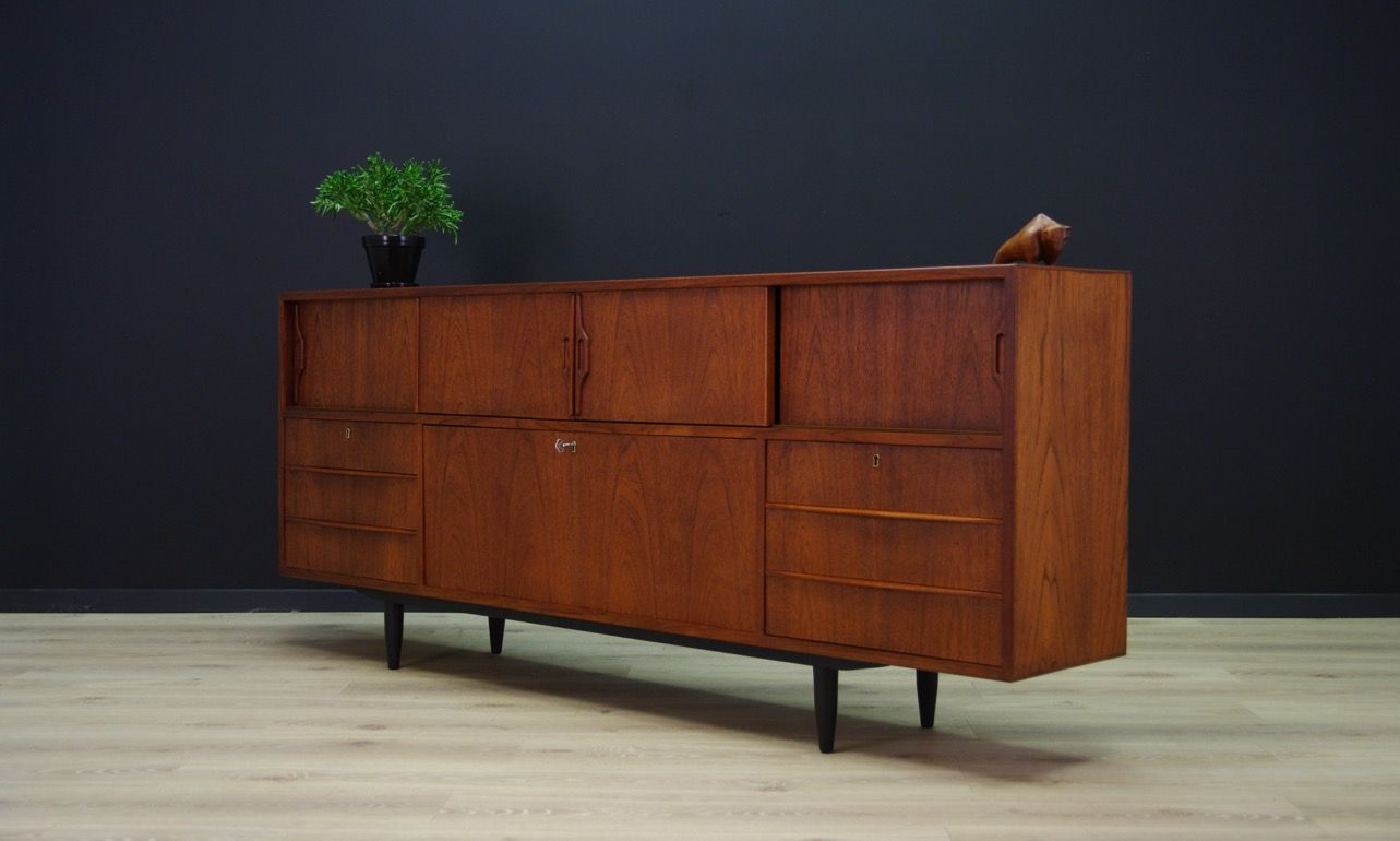 Vintage Sideboard Danish Vintage Danish Teak Sideboard For Sale At Pamono